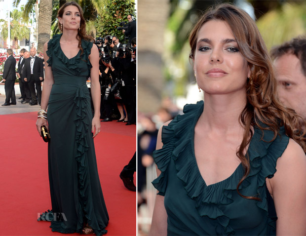 Charlotte Casiraghi In Gucci - Madagascar 3' Cannes Film Festival Premiere