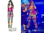 Cheryl Cole In Roberto Cavalli - 'Call My Name' The Voice Performance