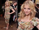 Chloe Moretz In Dolce & Gabbana - 'Hick' New York Screening