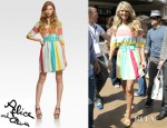 Christie Brinkley's Alice + Olivia Anita Striped Dress