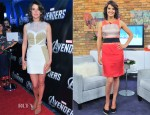 Cobie Smulders In Izmaylova & Paule Ka - 'The Avengers' Toronto Promo Tour