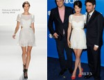 Cobie Smulders In Rebecca Minkoff - CBS Upfront 2012