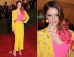 Coco Rocha In Vintage Givenchy - 2012 Met Gala