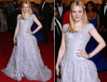 Dakota Fanning In Louis Vuitton - 2012 Met Gala