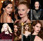 Beauty Trend Spotting: The Dark Lip