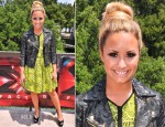 Demi Lovato In Topshop - 'The X Factor' Season 2 Austin Auditions