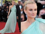 Diane Kruger In Giambattista Valli Couture - 'Moonrise Kingdom' Cannes Film Festival Premiere & Opening Ceremony