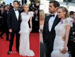 Diane Kruger In Nina Ricci -  'Killing Them Softly' Cannes Film Festival Premiere