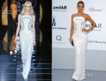 Doutzen Kroes In Versace - amfAR's Cinema Against AIDS Gala 2012
