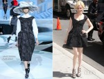 Elizabeth Banks In Marc Jacobs - Late Show with David Letterman