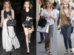 Emma Roberts Loves Her LBB (Little Black Bag)