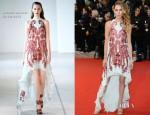 Erin Wasson In Antonio Berardi - 'Amour' Cannes Film Festival Premiere