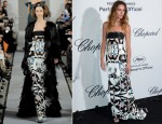 Erin Wasson In Oscar de la Renta - Soiree Chopard 'Mystery Party'