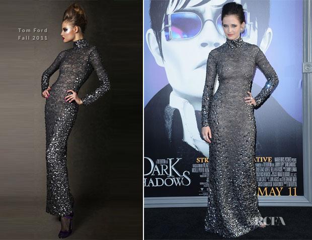 Eva Green In Tom Ford - 'Dark Shadows' LA Premiere - Red ...