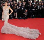 Eva Longoria In Marchesa - 'Moonrise Kingdom' Cannes Film Festival Premiere & Opening Ceremony