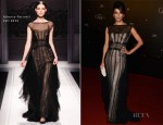 Eva Longoria In Alberta Ferretti - 2012 Cannes Film Festival Opening Night Dinner