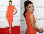 Eva Longoria In Victoria Beckham - 2012 Glamour Women of the Year Awards