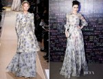 Fan BingBing In Valentino Couture - L'Oreal Paris 15th Anniversary Dinner