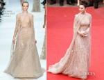 Fan Bingbing In Elie Saab Couture - 'De Rouille et D'Os' Cannes Film Festival Premiere