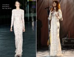 Florence Welch In Jonathan Saunders - A&E Networks 2012 Upfront
