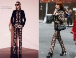 Florence Welch In Prabal Gurung - ABC's 'Nightline'