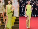 Freida Pinto In Atelier Versace - 'De Rouille et D'Os' Cannes Film Festival Premiere