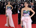 Freida Pinto In Michael Angel - 'Moonrise Kingdom' Cannes Film Festival Premiere & Opening Ceremony