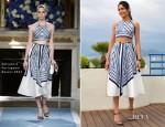 Freida Pinto In Salvatore Ferragamo - 'Desert Dancer' Cannes Film Festival Photocall