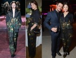 Gemma Arterton In Gucci - Gucci and Vanity Fair Dinner Party