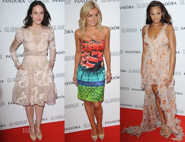 Alexandra Burke - Red Carpet Fashion Awards-3089