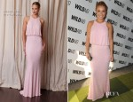 Hayden Panettiere In Naeem Khan - WildAid Charity Gala