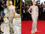 Heidi Klum In Marchesa - 'The Paperboy' Cannes Film Festival Premiere