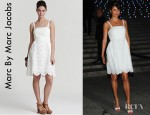 Helena Christensen's Marc By Marc Jacobs Palmetto Eyelet Dress