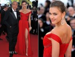 Irina Shayk In Roberto Cavalli - 'Killing Them Softly' Cannes Film Festival Premiere