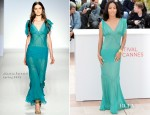 Jada Pinkett-Smith In Alberta Ferretti - 'Madagascar 3' Cannes Film Festival Photocall