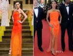 Jada Pinkett-Smith In Atelier Versace - 'Madagascar 3′ Cannes Film Festival Premiere