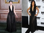 Jada Pinkett-Smith In Bill Blass - 'Men In Black 3' New York Premiere