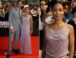 Jada Pinkett-Smith In Giorgio Armani - 'Men In Black 3' Seoul Premiere