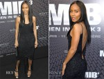 Jada Pinkett Smith In Giorgio Armani - 'Men In Black 3' Paris Premiere