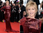 Jane Fonda In Roberto Cavalli - 'Madagascar 3′ Cannes Film Festival Premiere