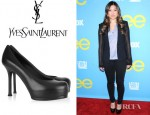 Jenna Ushkowitz' YSL Tribtoo Leather Pumps