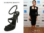 Jennifer Connelly's Giuseppe Zanotti Swarovski Embellished Sandals