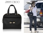 Jennifer Garner's Jimmy Choo Justine Leather Tote