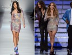 Jennifer Lopez In Blumarine & Versace - 'American Idol' Finale