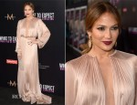 Jennifer Lopez In Maria Lucia Hohan - 'What To Expect When You're Expecting' LA Premiere
