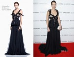 Jessica Alba In Alexander McQueen - 2012 Glamour Women of the Year Awards