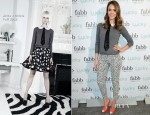 Jessica Alba In Alice + Olivia - FABB: Fashion and Beauty Blog Conference