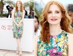 Jessica Chastain In Dolce & Gabbana - 'Madagascar 3′ Cannes Film Festival Photocall