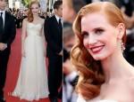 Jessica Chastain In Armani Privé - 'Madagascar 3′ Cannes Film Festival Premiere