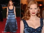 Jessica Chastain In Louis Vuitton - 2012 Met Gala